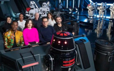 """""""Star Wars: The Rise of Skywalker"""" Cast Previews Star Wars: Rise of the Resistance in Disneyland"""