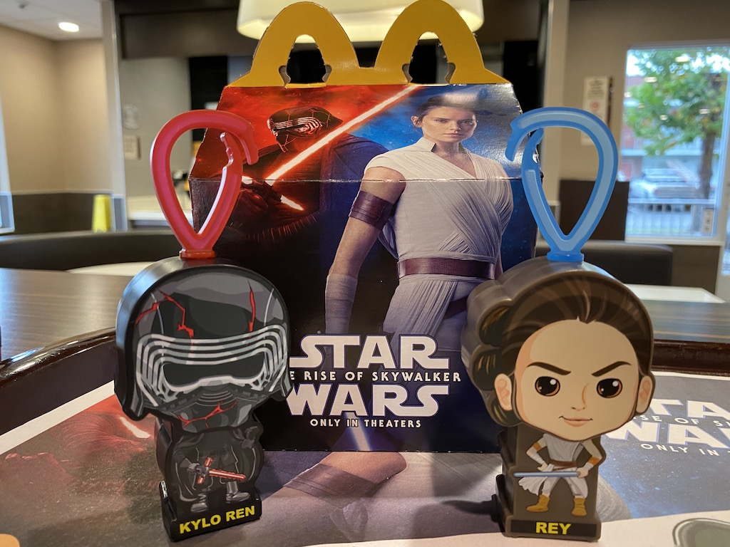 MCDONALDS STAR WARS 2019 HAPPY MEAL TOYS # 1,3,9,11,12,16  NEW