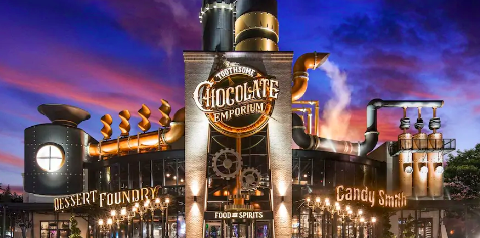 Toothsome Chocolate Emporium Savory Feast Kitchen Coming