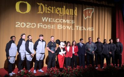 Video: 2020 Rose Bowl Teams Appear at Disneyland in Advance of New Year's Day Game