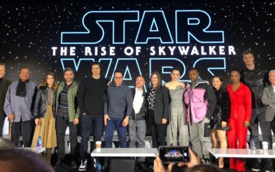 "Video - ""Star Wars: The Rise of Skywalker"" Cast, Creative Team Unite for Global Press Conference"