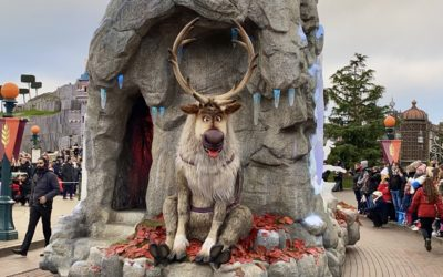 A Frozen Celebration Comes to Disneyland Paris