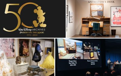 D23 Releases 2020 Event and Exhibition Calendar for Walt Disney Archives