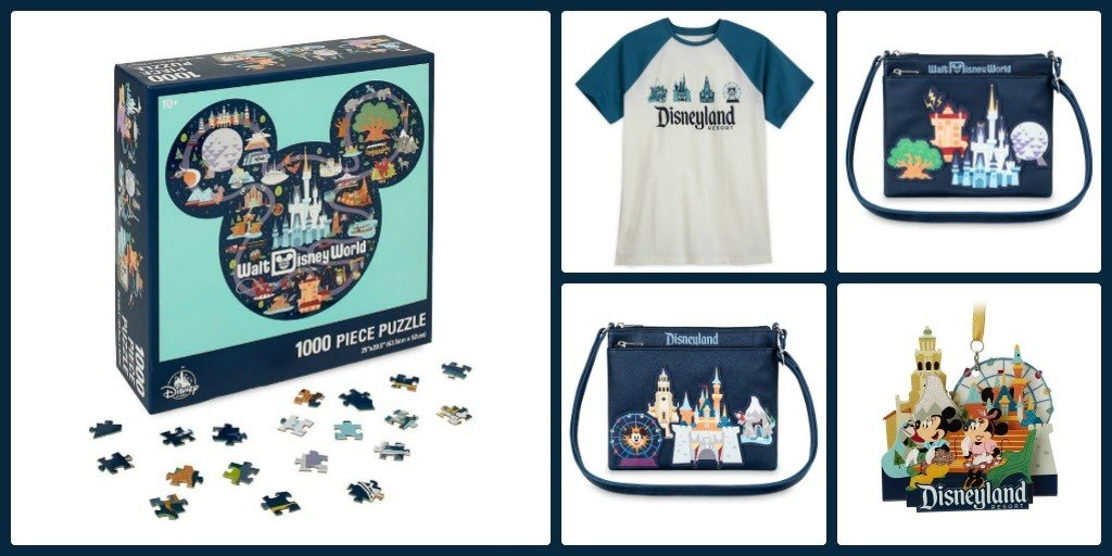 NEW Disney Parks Park Life /& Attractions Icons Loungefly Mini Backpack 2020