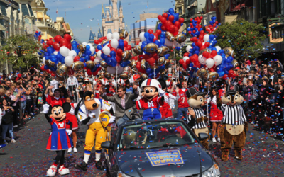 Disney Parks Blog to LiveStream the Super Bowl Celebration at Walt Disney World Resort on Monday, Feb 3