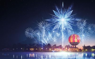 "Disneyland Paris to Offer Limited Time Show ""Magic Over Lake Disney: The Frozen Edition"""