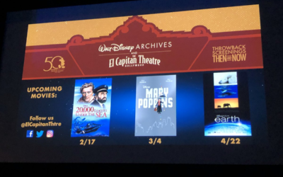 "El Capitan Theater and the Walt Disney Archives Present ""20,000 Leagues Under The Sea"" as Part of ""Throwback Screenings Then and Now"" in February"