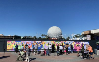 Epcot Future World Construction Photo Update