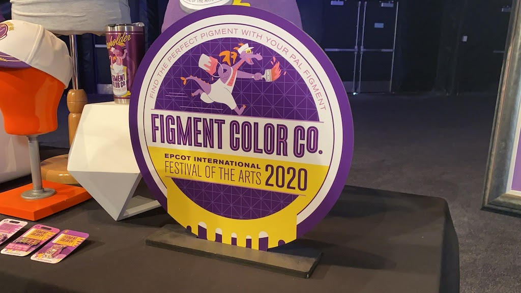 Figment Shines On 2020 Epcot International Festival Of The Arts Merchandise