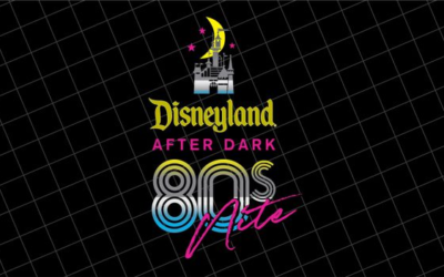Full Character Line-Up, Specialty Food Menus, Entertainment Schedule and More Revealed for Disneyland After Dark: 80's Nite