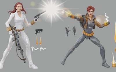 Hasbro Previews Marvel Legends Black Widow Figures Inspired by Marvel Comics