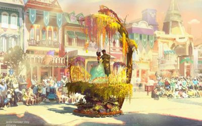 "Disney Shares Sneak Peek at Additional ""Magic Happens"" Parade Floats"