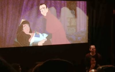 "Man Proposes To His High School Sweetheart By Inserting Themselves Into Screening of ""Sleeping Beauty"""