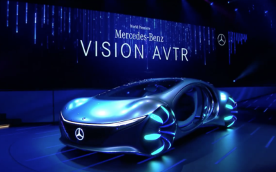 Mercedes-Benz Unveils Avatar-Inspired Cutting Edge Vehicle - VISION AVTR