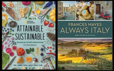 """National Geographic to Publish """"Attainable Sustainable,"""" """"Always Italy"""" This Spring"""
