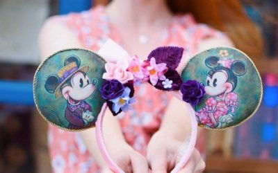 """New """"Painted"""" Ears by John Coulter to be Released at Epcot"""