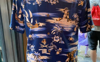 New Pirates of the Caribbean Tommy Bahama Shirt Hits the Shelves at Disneyland