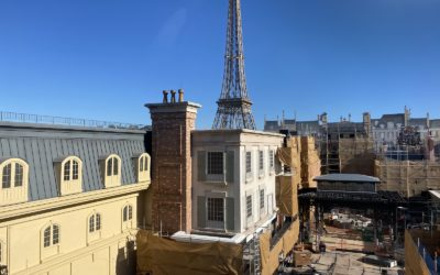 Photo Update - Remy's Ratatouille Adventure Construction at Epcot