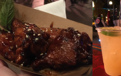 Quick Bites Review:  Firecracker Three Cup Chicken Wings and Honey-Lime Green Tea — Disney Lunar New Year