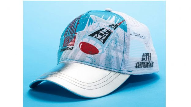 Space Mountain 45th anniversary baseball cap