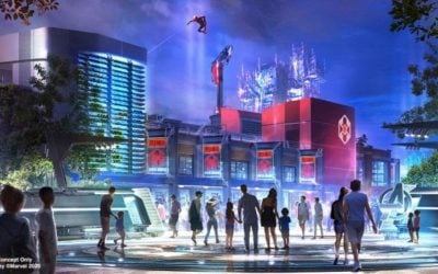 Spider-Man to Swing Above Avengers Campus at Disney California Adventure