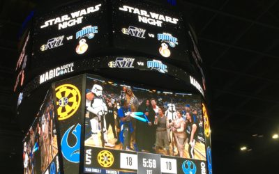 """Star Wars Night"" Brings the Force to the Amway Center and the Orlando Magic."