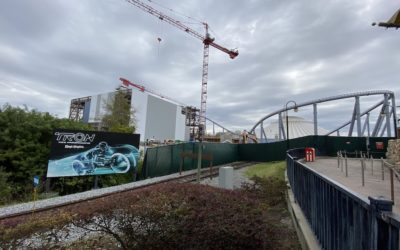 Construction Update: TRON Lightcycle/Run Ride Building