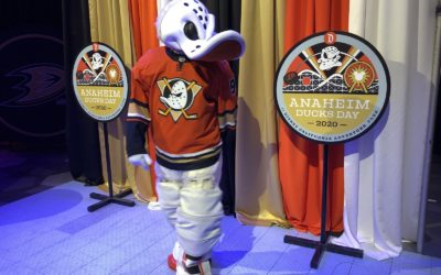 Video/Photos: Anaheim Ducks Day Returns to Disney California Adventure to Celebrate Local NHL Team