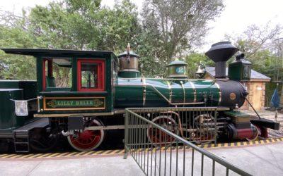Walt Disney World Railroad Photo Opportunity Moving to Fantasyland Station January 27