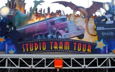 Extinct Attractions - Disneyland Paris' Studio Tram Tour