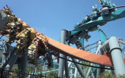 Extinct Attractions - Dueling Dragons and Dragon Challenge