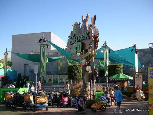 Extinct Attractions Universal Studios Hollywood S Shrek 4 D Laughingplace Com
