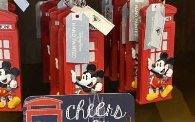 """Hello Mate!"" The Latest Disney Merchandise Collection Celebrates Epcot's United Kingdom Pavilion"
