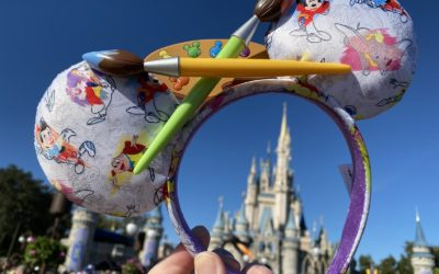 New Ink & Paint Mouse Ears Released at Disney Parks