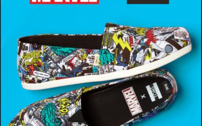 Avengers Assemble! New Marvel x TOMS Collection Launches Online and in Stores