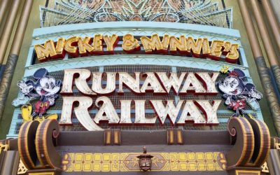 Photos - Mickey & Minnie's Runaway Railway Marquee Up at Disney's Hollywood Studios