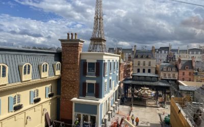 Progress Update on Remy's Ratatouille Adventure, Opening This Summer at EPCOT