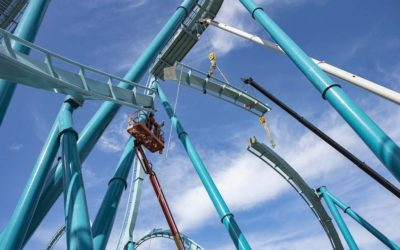 SeaWorld San Diego Celebrates Major Construction Milestones on New Dive Coaster Emperor