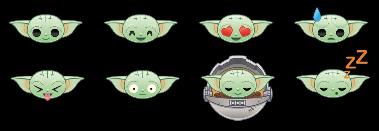The Child expressions in Emoji Blitz