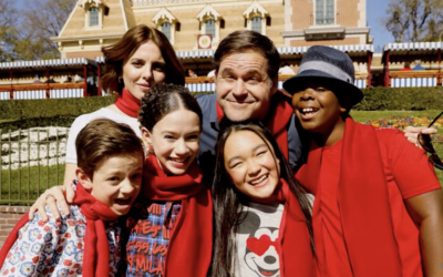 "Cast of ""Timmy Failure: Mistakes Were Made"" Celebrate Disney+ Release at Disneyland Resort"