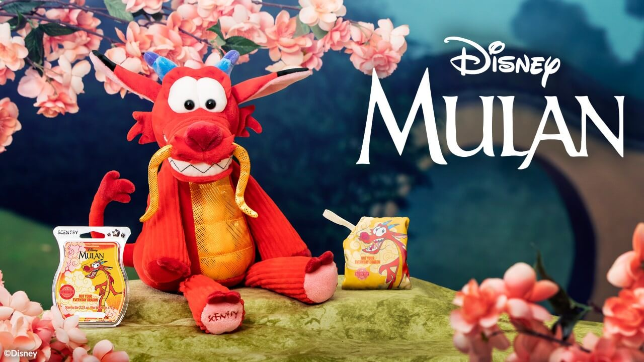 Scentsy Releases A Mushu Collection From Mulan Laughingplace Com