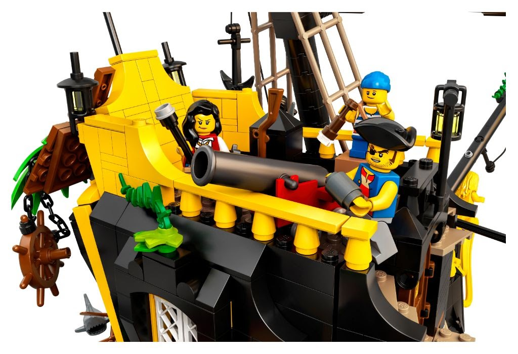Swashbuckling New Pirates Of Barracuda Bay Building Set Announced By Lego Ideas Laughingplace Com