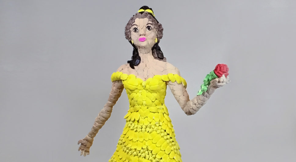 "Disney Princesses Made of Marshmallow? Belle Figure Featured in Maryland ""PEEPShow"""