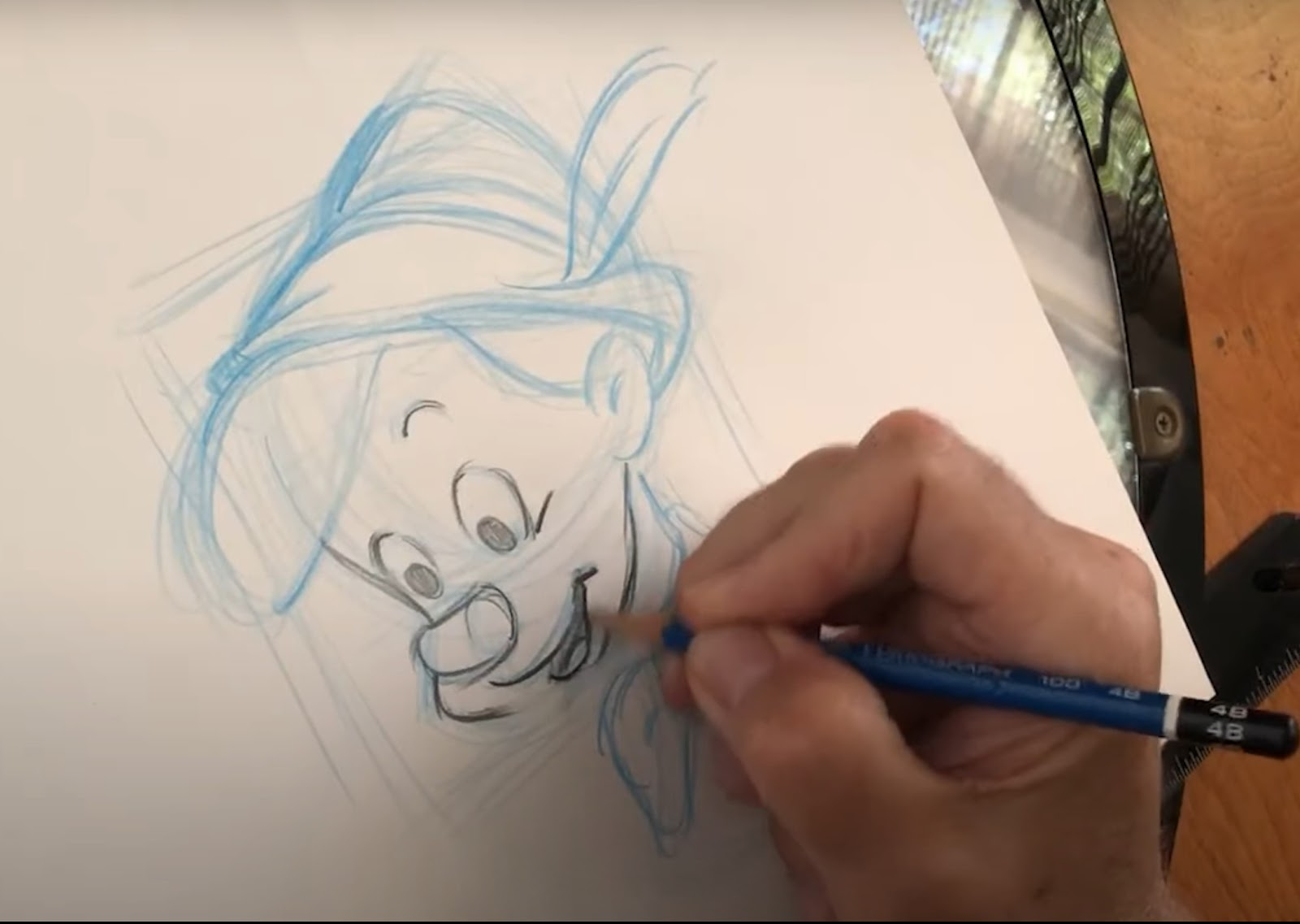 learn to draw pinocchio in todays drawwithdisneyanimation.'