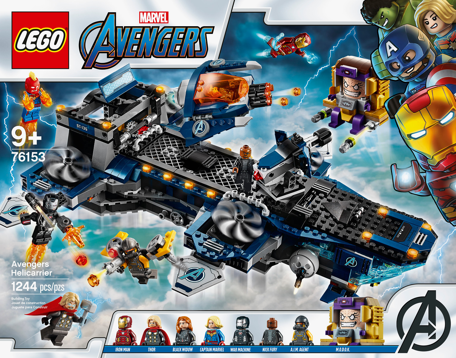 New LEGO Marvel Avengers Sets Coming to Target In June ...