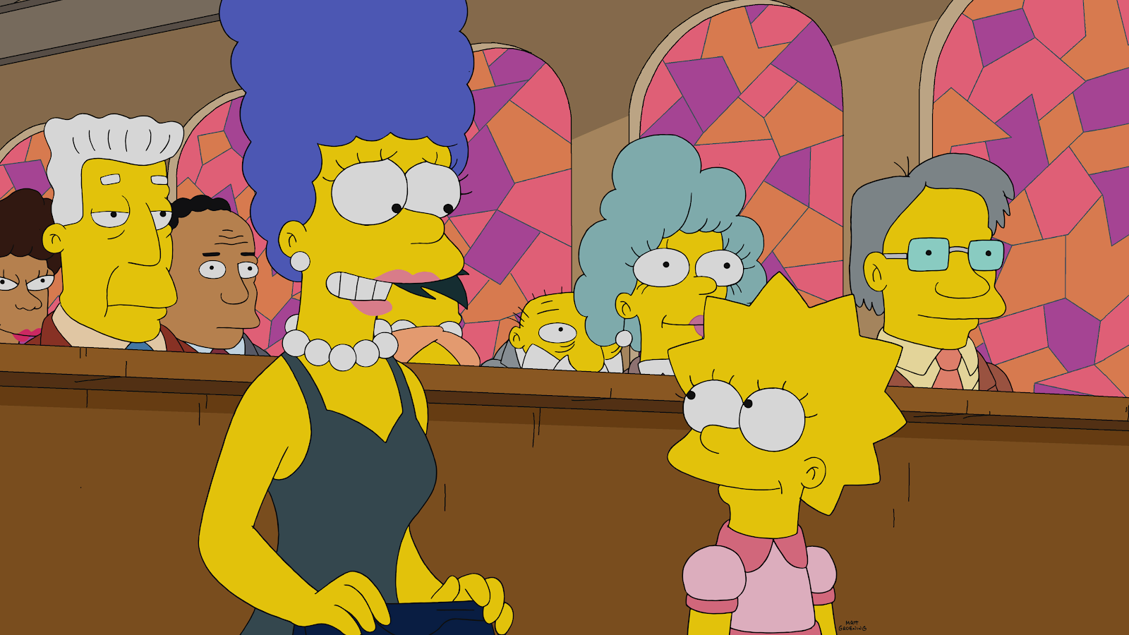 Tv Recap The Simpsons Season 31 Episode 20 Warrin Priests Part Two Laughingplace Com