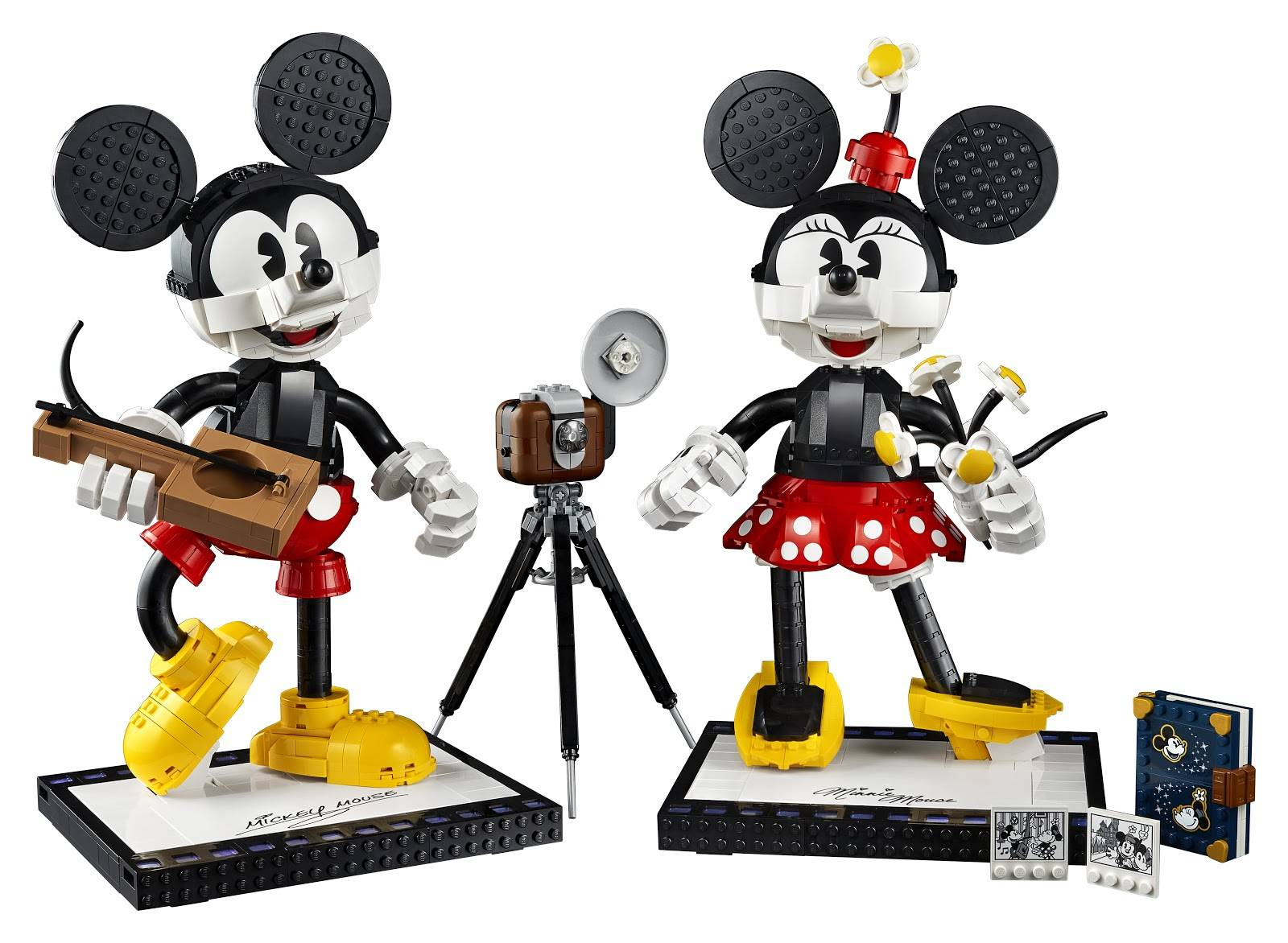 Lego Reveals Buildable Mickey Mouse Minnie Mouse Set Coming This Summer Laughingplace Com