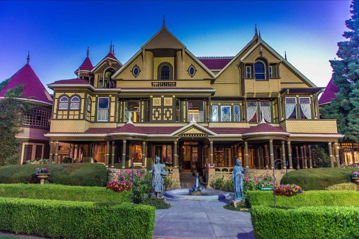 2020 Winchester Mansion Halloween Tours Winchester Mystery House to Reopen July 13 with Self Guided Tours
