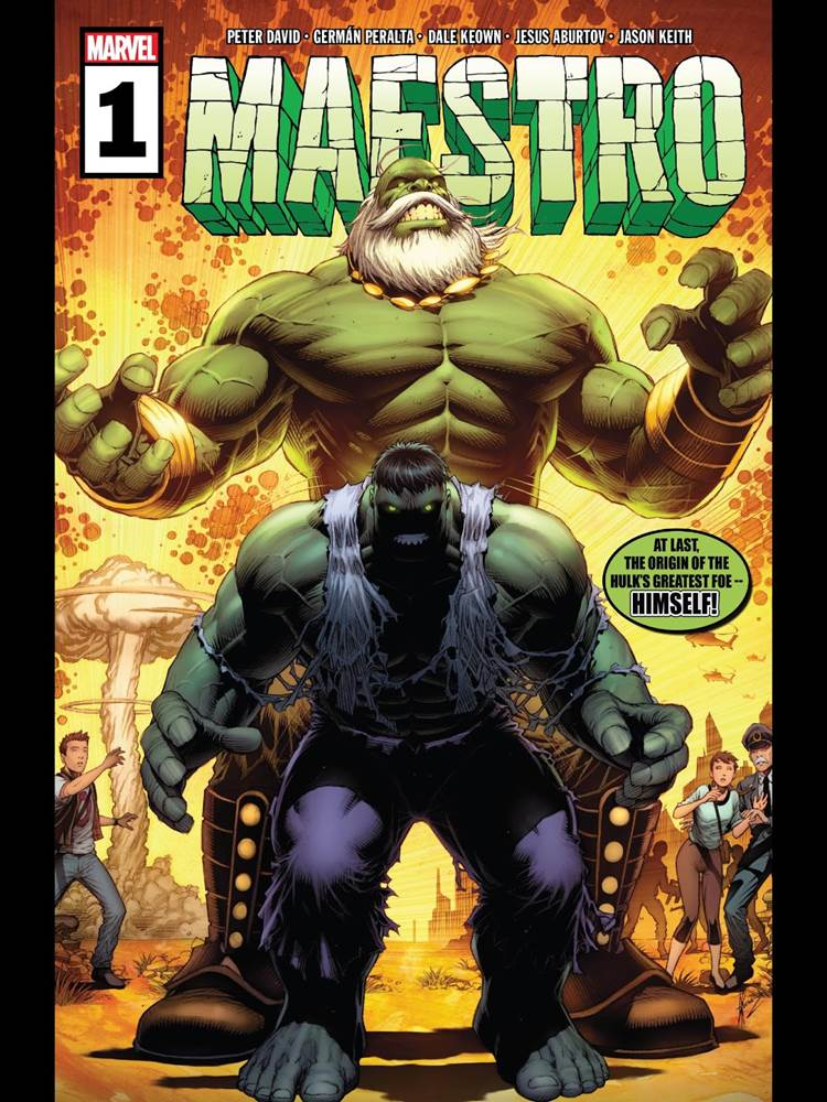 "Comic Review - ""Maestro #1"" - LaughingPlace.com"
