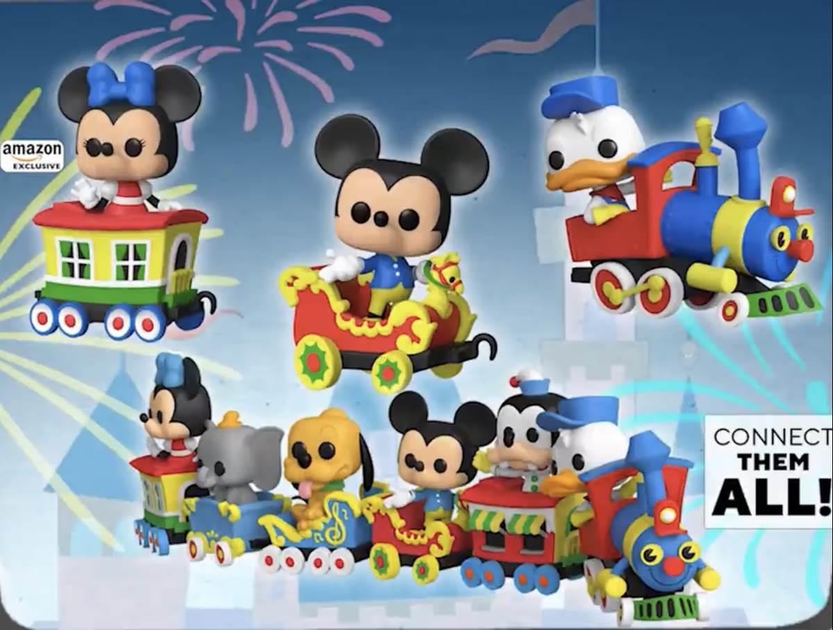 Funko POP Disney 65th: Goofy Casey Jr Funko Shop Exclusive Circus Train